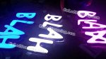 Dimmable LED Letter Sign